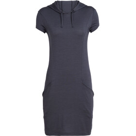 Icebreaker Yanni Hooded Dress Women panther